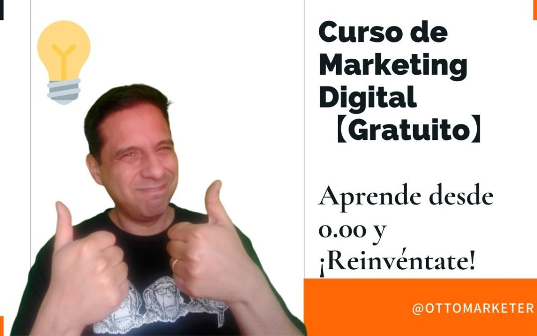 Curso Gratuito de marketing digital